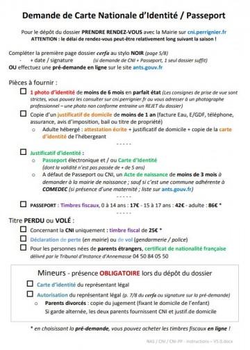 Cartes D Identite Et Passeports Mairie De Perrignier